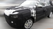 Ssangyong XLV spied front