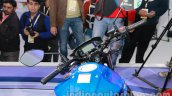 Suzuki Gixxer digital display at Auto Expo 2014