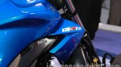 Suzuki Gixxer engine cowl at Auto Expo 2014