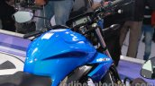Suzuki Gixxer fuel tank at Auto Expo 2014