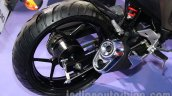 Suzuki Gixxer rear wheel at Auto Expo 2014