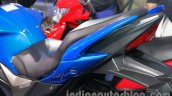 Suzuki Gixxer seat at Auto Expo 2014