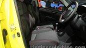 Suzuki Swift Sport front seats at Auto Expo 2014