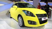 Suzuki Swift Sport front three quarters at Auto Expo 2014