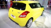 Suzuki Swift Sport rear three quarters right at Auto Expo 2014