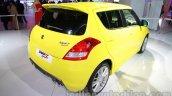Suzuki Swift Sport rear three quarters right at Auto Expo 2014