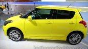 Suzuki Swift Sport side co-driver at Auto Expo 2014