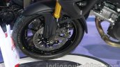 Suzuki V-Strom 1000 ABS front disc brake at 2014 Auto Expo