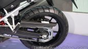 Suzuki V-Strom 1000 ABS rear wheel at 2014 Auto Expo