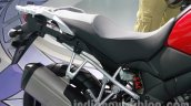 Suzuki V-Strom 1000 ABS seat at 2014 Auto Expo