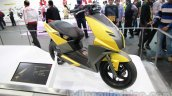 TVS Graphite concept front three quarter right live