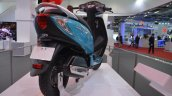 TVS Scooty Zest 110 cc rear three quarters right from 2014 Auto Expo
