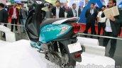 TVS Scooty Zest 110 cc rear three quarters