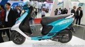 TVS Scooty Zest 110 cc side