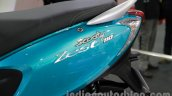 TVS Scooty Zest badge live