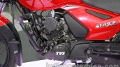 TVS Star City+ engine at Auto Expo 2014
