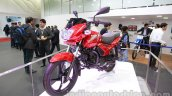 TVS Star City+ front three quarters right at Auto Expo 2014