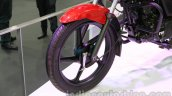 TVS Star City+ front wheel at Auto Expo 2014
