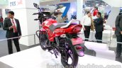 TVS Star City+ rear three quarters at Auto Expo 2014