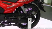 TVS Star City+ rear wheel at Auto Expo 2014