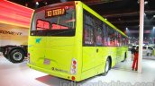 Tata Starbus Urban hybrid rear three quarters