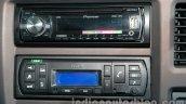 Tata Ultra 614 audio system at Auto Expo 2014