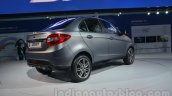 Tata Zest customized Auto Expo rear quarter