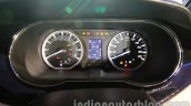 Tata Zest launch images instrument cluster