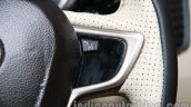Tata Zest launch images steering leather
