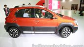 Toyota Etios Cross profile at Auto Expo 2014