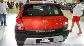 Toyota Etios Cross rear at Auto Expo 2014