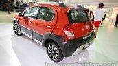 Toyota Etios Cross rear three quarters at Auto Expo 2014