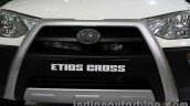 Toyota Etios Cross with accessories grille at Auto Expo 2014
