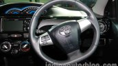 Toyota Etios Cross with accessories steering wheel at Auto Expo 2014