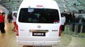 Toyota Hiace Auto Expo 2014 rear