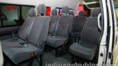 Toyota Hiace Auto Expo 2014 seats