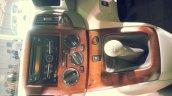 Updated Nissan Evalia Auto Expo 2014 center console
