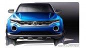 VW T-ROC Concept sketch front