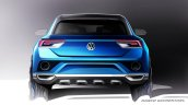 VW T-ROC Concept sketch rear