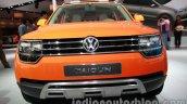 VW Taigun front fascia at Auto Expo 2014