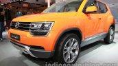 VW Taigun front three quarters right at Auto Expo 2014