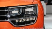 VW Taigun headlight at Auto Expo 2014
