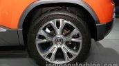 VW Taigun wheel at Auto Expo 2014