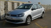 VW Vento TSI Review front three quarter