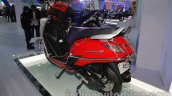 Yamaha Alpha with accessories Auto Expo rear guard
