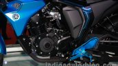 Yamaha FZ-S Concept Auto Expo engine