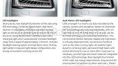 2014 Audi A8 Indian brochure lights