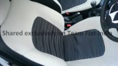 2014 Fiat Punto facelift snapped seat