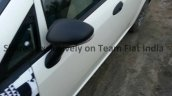 2014 Fiat Punto facelift snapped wing mirror