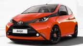 2014 Toyota Aygo front orange leaked official image